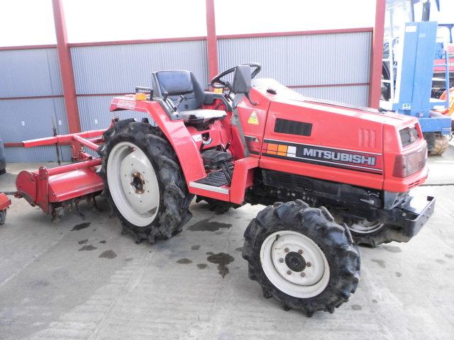 Used Farm Tractor Mitsubishi Mt20 4wd 20hp