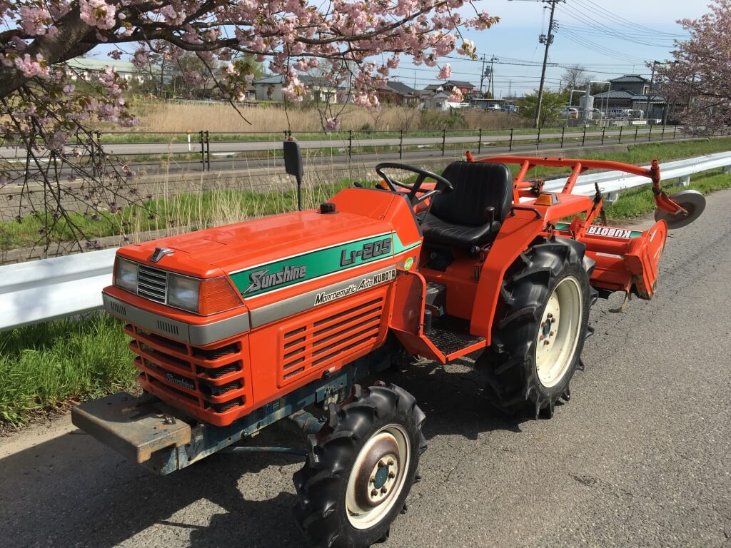 Farm Tractor From Japan Kubota Iseki Yanmar Mitsubishi