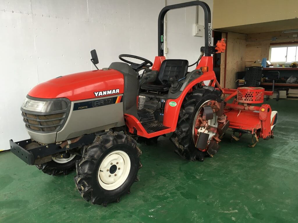 Yanmar Tractor Pto : Yanmar tractor af wd first japanese online store of