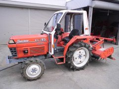 Used farm tractor Kubota L1-195 4WD 19HP 504 hours Half-cabin