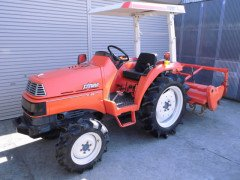 Used farm tractor Kubota X24 4WD 24HP