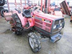 Used farm tractor Shibaura D23F