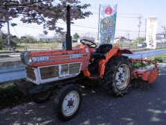 Used tractor Kubota L2002 2WD 20HP