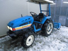 Used japanese tractor Iseki TU245 24HP