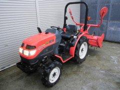 Used japanese tractor Mitsubishi GF150 4WD 15HP