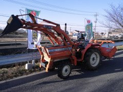 Used tractor Kubota L2002DT 4WD 20HP FRONT LOADER