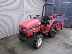 Used farm tractor Mitsubishi MT165 16HP
