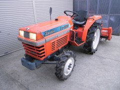 Used tractor Kubota L1-225 4WD 22HP