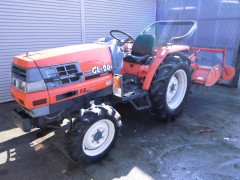Used farm tractor Kubota GL26 26HP High Speed