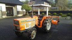 USED KUBOTA TRACTOR ZL2802DT FROM JAPAN