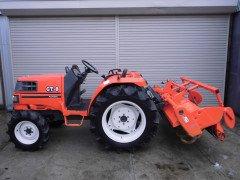 Used japanese farm tractor Kubota GT8 4WD 26HP