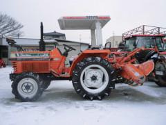 Used japanese farm tractor Kubota L1-24 24HP