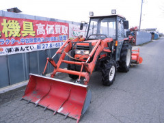Used farm cabin tractor Kubota GL33 Hi-Speed 33HP Front Loader